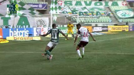 Os Gols de Palmeiras 1 x 3 Flamengo, pela 20ª rodada do Campeonato Brasileiro 2021
