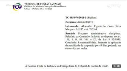 TCU suspende autor de relatório falso sobre Covid-19