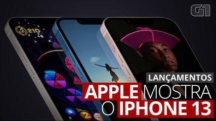 Apple apresenta o iPhone 13; veja novidades