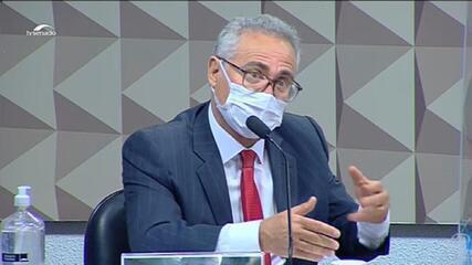 Calheiros aponta contradições em depoimento de Marconny com mensagens obtidas pela CPI