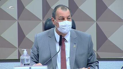 Omar Aziz diz na CPI: 'Wagner Rosário é um prevaricador'