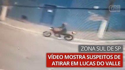 Vídeo mostra ação de suspeitos de atirarem em Lucas do Valle, no Ipiranga, Zona Sul de SP