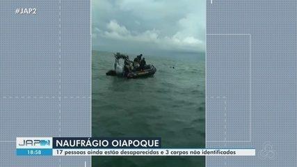 Naufrágio na Guiana Francesa: 17 pessoas estão desaparecidas e 3 corpos não identificados