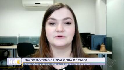 Meteorologistas alertam para onda de calor neste fim de semana no centro-oeste paulista