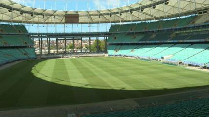 Arena Fonte Nova volta a receber jogos de futebol