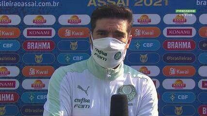 """""""Vamos lutar para ser campeões brasileiros"""", diz Abel Ferreira antes do jogo contra a Chapecoense"""