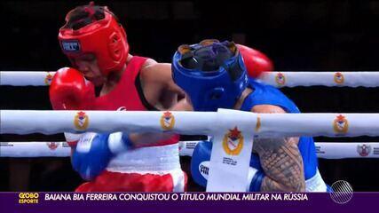 Beatriz Ferreira conquista o ouro no Campeonato Mundial militar de boxe