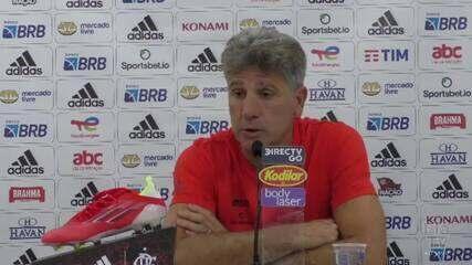 Confira a coletiva de Renato Gaúcho após o empate entre América-MG x Flamengo
