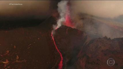 Novas erupções deixam em alerta Ilha de Palma, nas Canárias