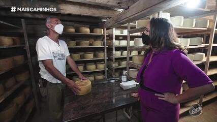 Roberta Campos mostra o renomado queijo paulista em Amparo (SP).