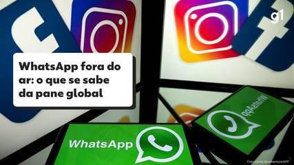 WhatsApp fora do ar: o que se sabe e o que falta esclarecer sobre a pane global