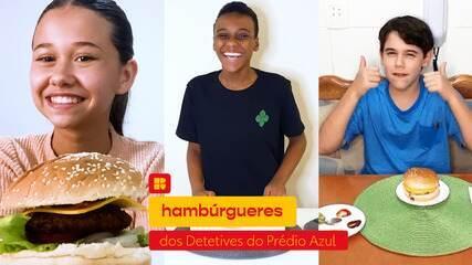 Hambúrgueres dos Detetives do Prédio Azul