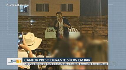Cantor sertanejo de Rondônia é preso durante show em Goiás, diz polícia