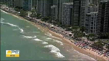 Recife é a capital do Brasil com mais risco pelo avanço do mar