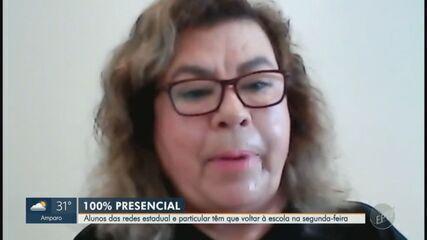 Sindicato dos professores da rede estadual são contra retomada 100% presencial em Campinas