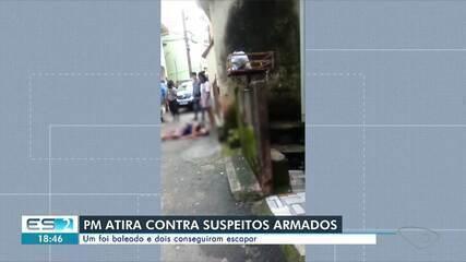Homem é baleado após confronto com policial em Vitória