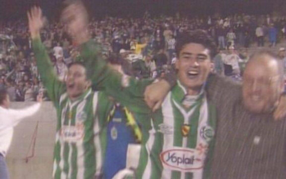 Em 1999, Juventude goleia Internacional por 4 a 0 e é finalista da Copa do Brasil