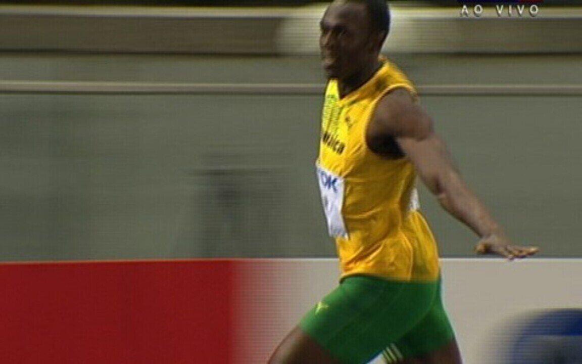 Usain Bolt conquista o ouro com novo recorde mundial em Berlim