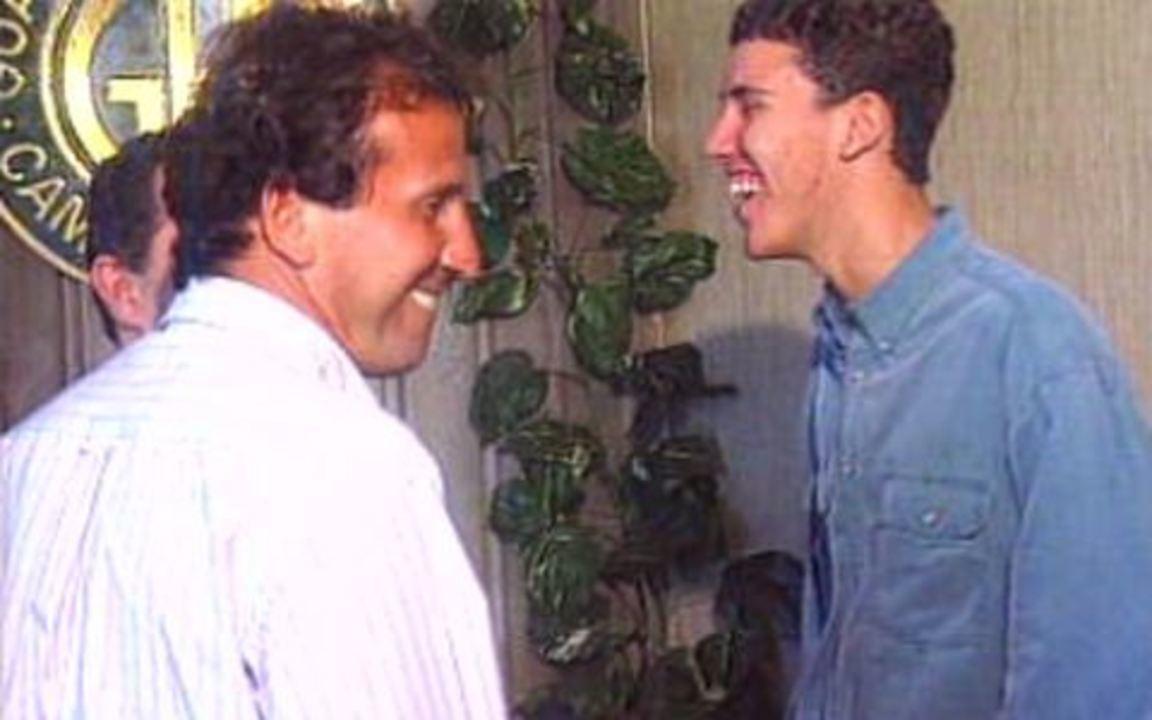 Em 1995, Guarani contrata filho de Zico