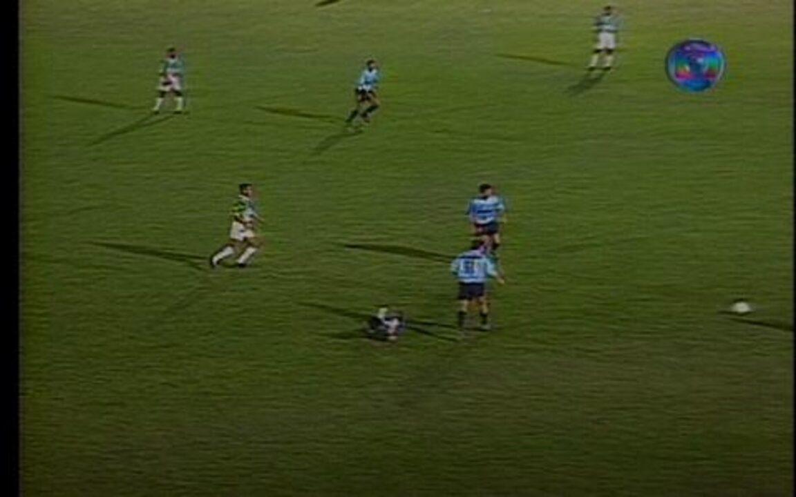 Em 1995, melhores momentos de Palmeiras 5 x 1 Grêmio, pela Copa do Brasil