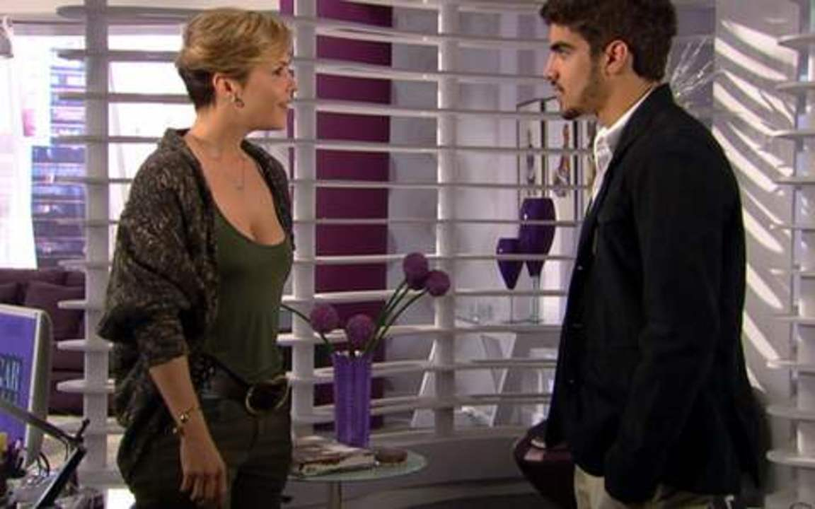 Ti ti ti - capítulo de terça-feira, 07/09/2010, na íntegra - Edgar conta para Luisa que está apaixonado por Marcela!