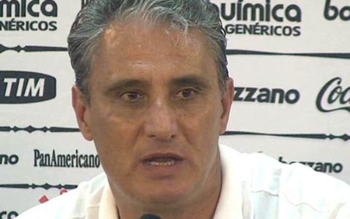 Tite, em 2010, antes dos jogos que definiram o título do Fluminense