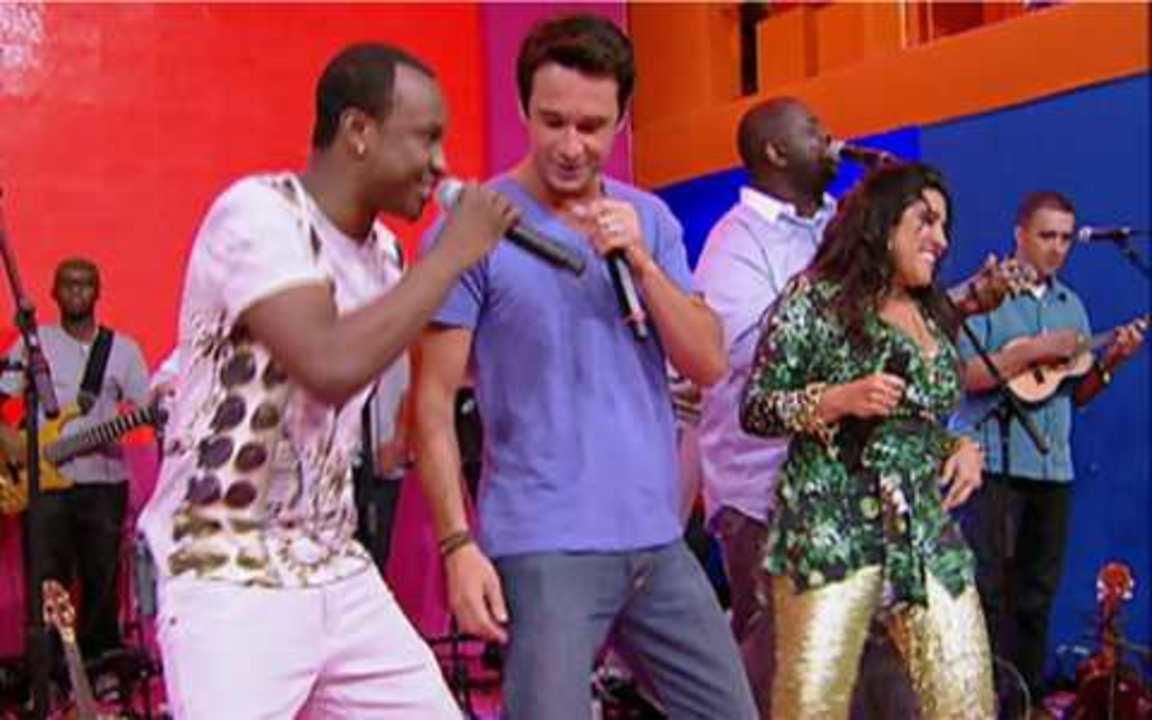 Esquenta – Programa do dia 30/01, na íntegra - Rodrigo Santoro canta pagode com o grupo Exaltasamba. Raí dança com Regina e relembra gols da carreira