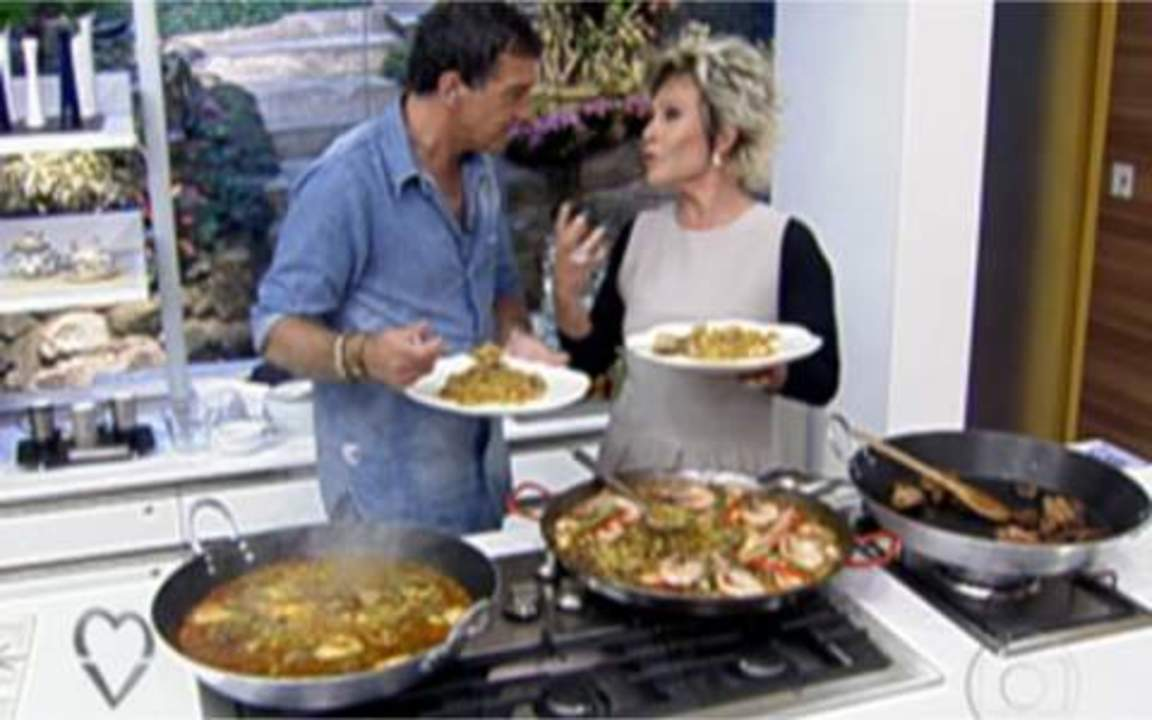 Culinária: Paella do Antonio Banderas