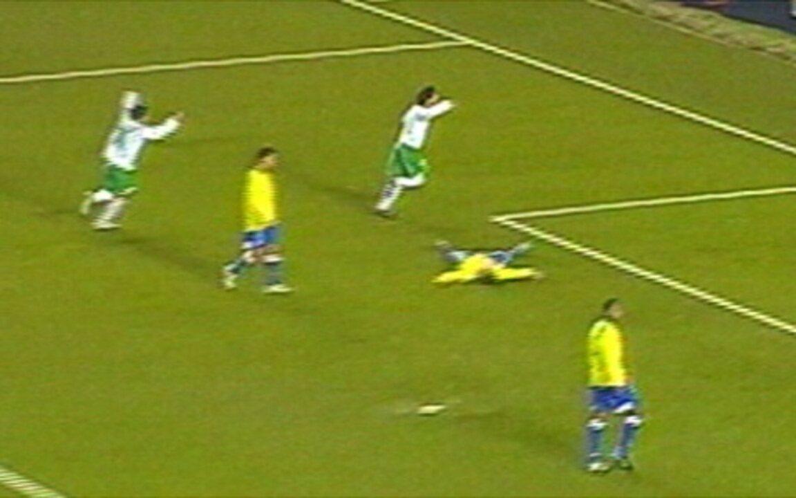 Em 2005, Brasil perde para o México na final do Mundial Sub-17