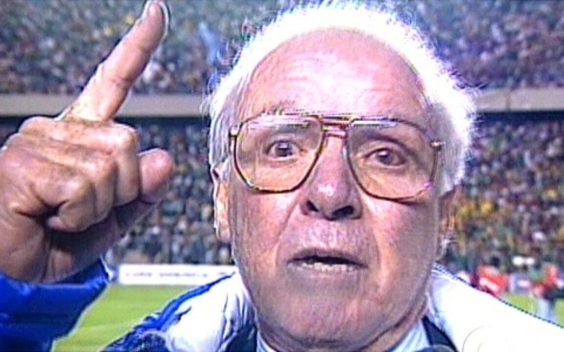 Desabafo de Zagallo marca a Copa América de 1997