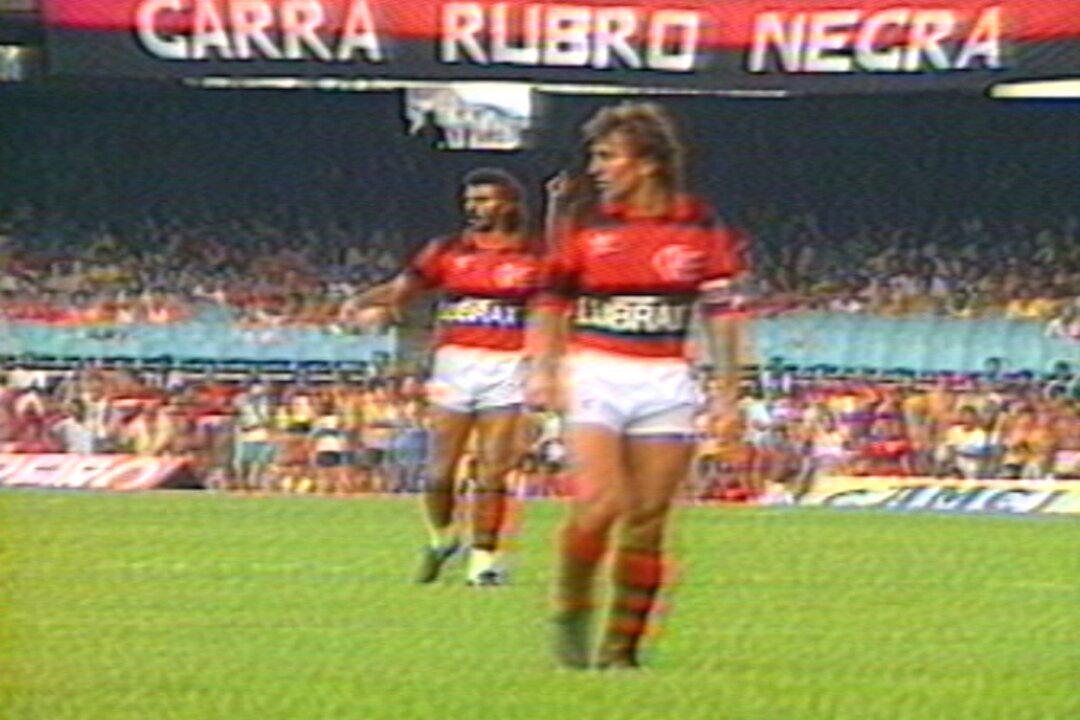 Baú do Esporte relembra goleada do Flamengo sobre o Fluminense no Carioca de 1986