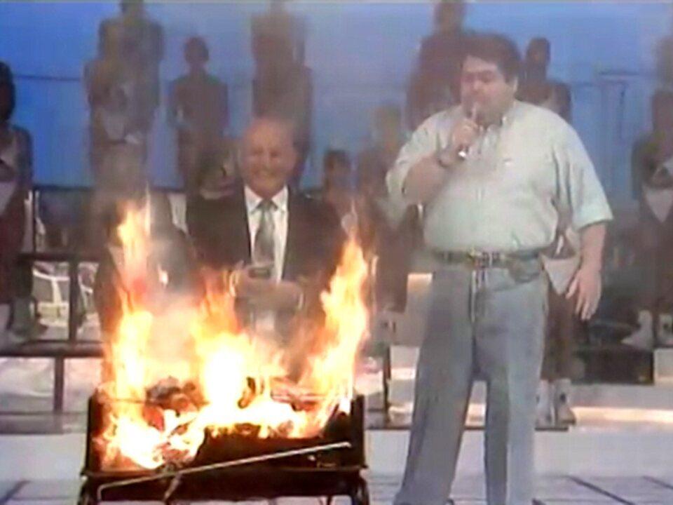 Faustão 1994 - Explosão