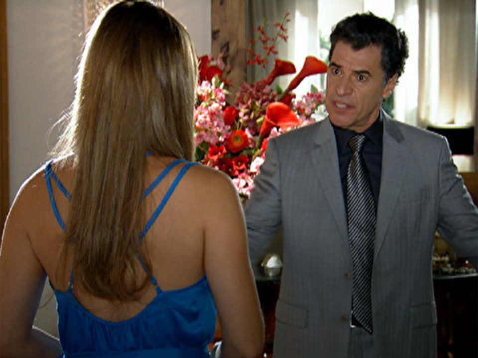 A Vida da Gente - capítulo de quarta-feira, dia 23/11/2011, na íntegra - Cris e Jonas discutem por causa do filho