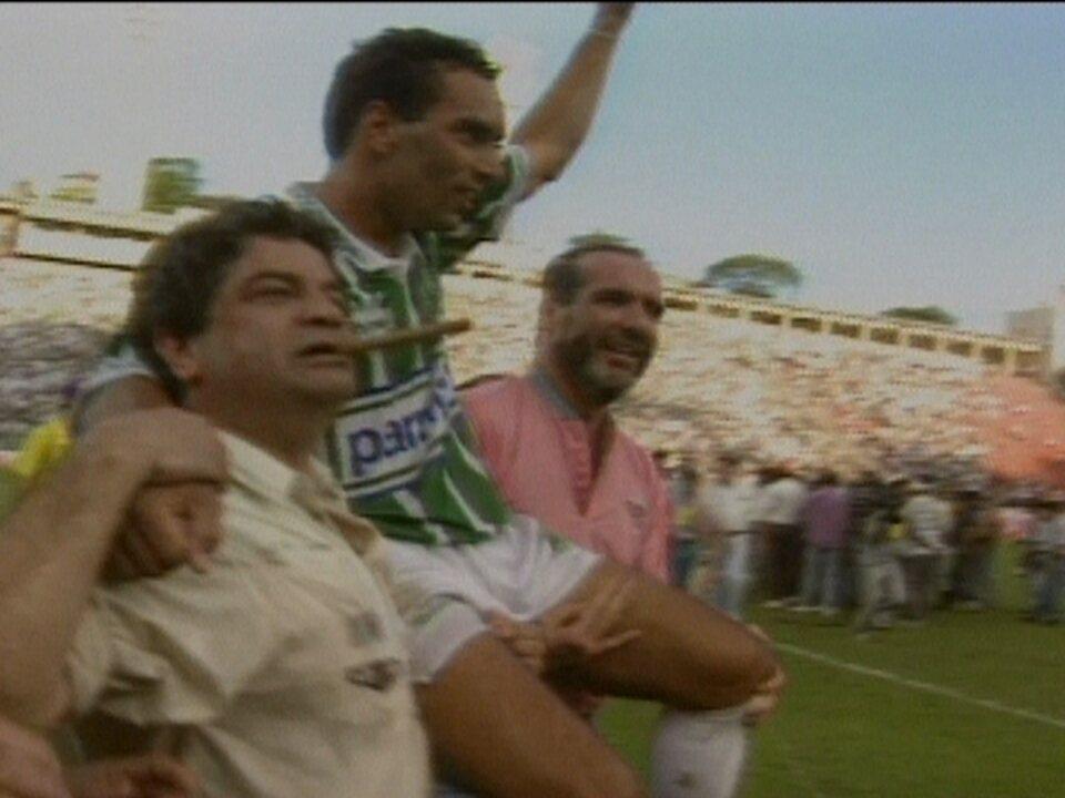 Em 1994, Corinthians e Palmeiras empatam, e Verdão conquista Campeonato Brasileiro
