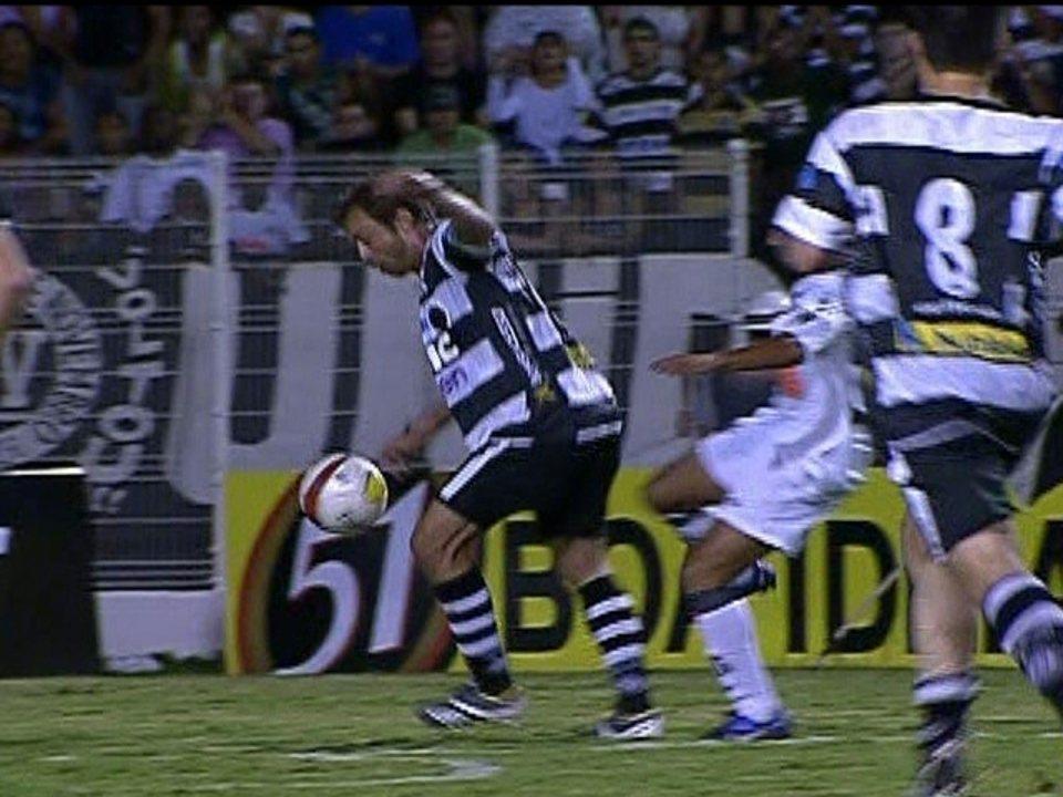 Melhores momentos: Santos 1 x 1 XV Piracicaba pelo Paulistão 2012