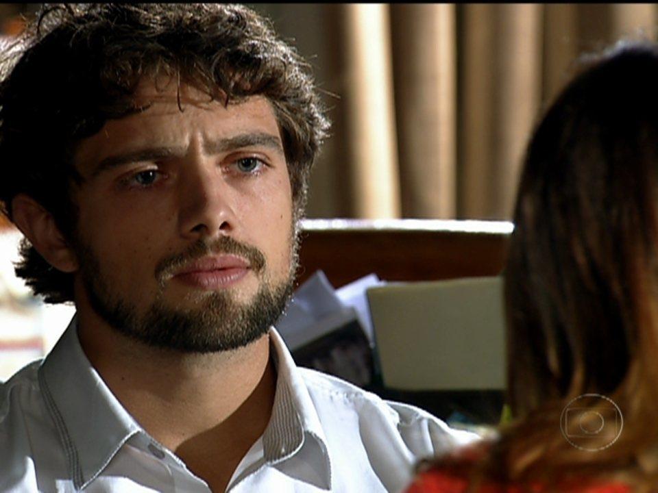 A Vida da Gente - Capítulo de quarta-feira, dia 08/02/2012, na íntegra - Rodrigo fica triste ao saber que Ana se casará