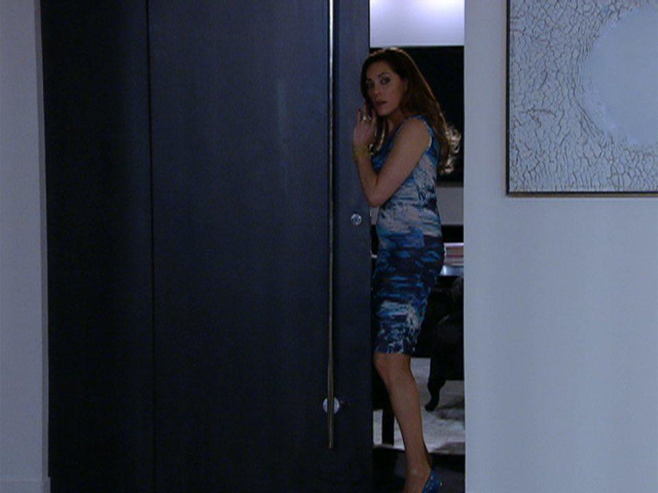 Fina Estampa - Capítulo de quinta-feira, 23/02/2012, na íntegra - Tereza Cristina flagra Pereirinha tentando abrir cofre