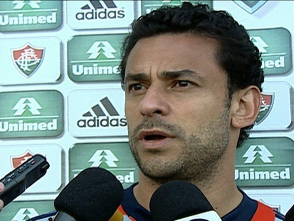 Fred:''Não penso em Seleção, enquanto o Mano estiver lá''