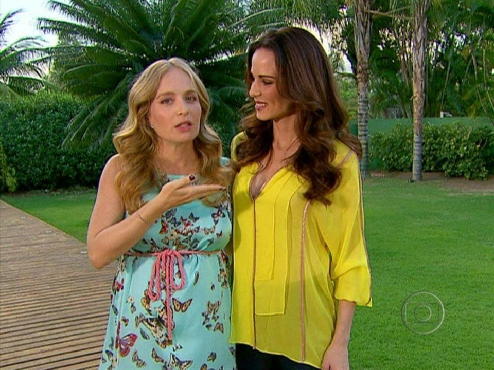 De licença maternidade, Angélica passa o bastão para Ana Furtado