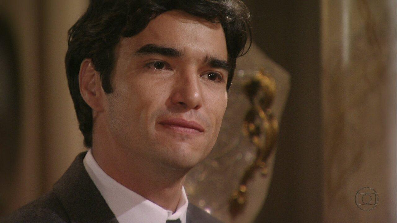 Lado a Lado - Capítulo de sábado, dia 10/11/2012, na íntegra - Fernando descobre que não é filho de Margarida e se revolta contra Bonifácio