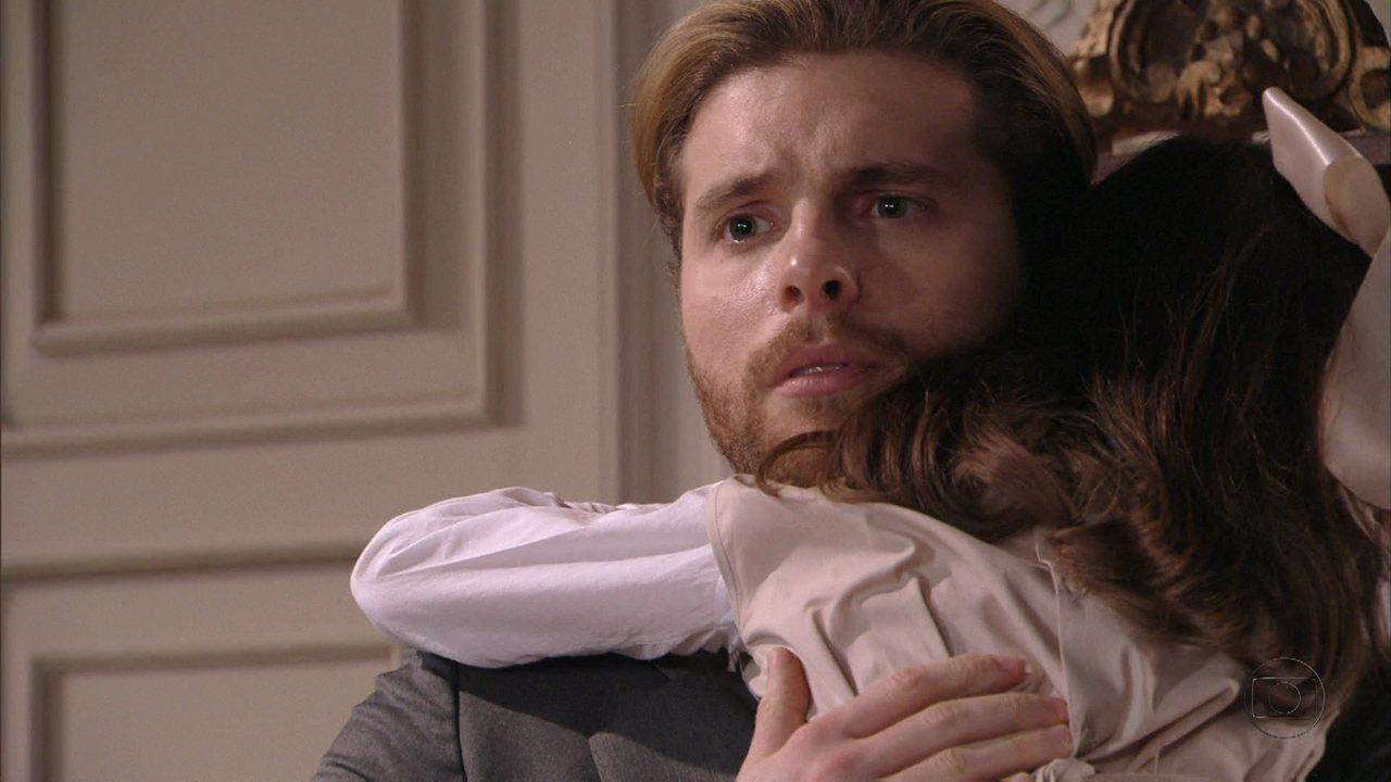 Lado a Lado - Capítulo de Quinta-feira, dia 15/11/2012, na íntegra - Edgar reencontra Laura e descobre que a ex-mulher é professora de Melissa