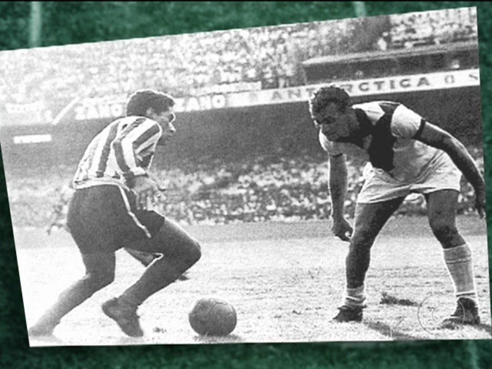 Coronel do Vasco tinha a missão de marcar Garrincha na década de 50 e 60
