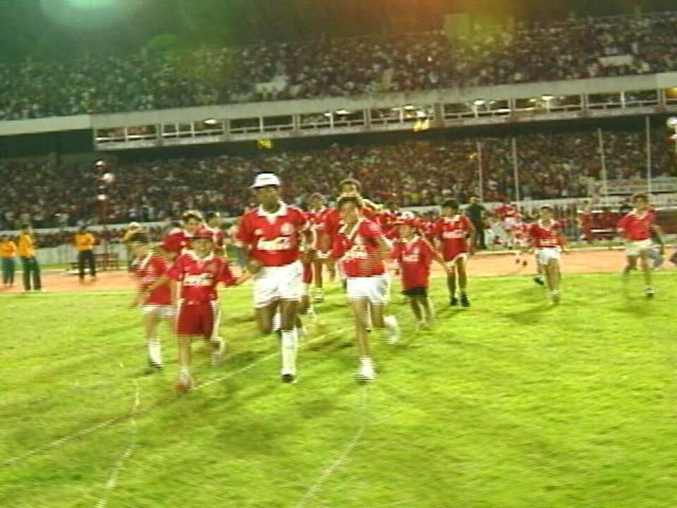 Inter vence o Palmeiras por 2 a 1 no Beira-Rio em 1992