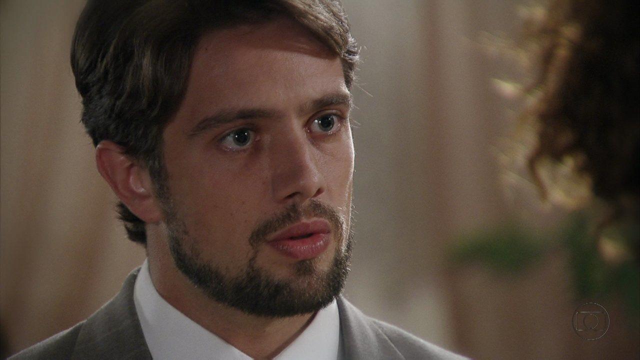 Lado a Lado- capítulo de sexta-feira, dia 14/12/2012, na íntegra - Albertinho se desculpa com Isabel
