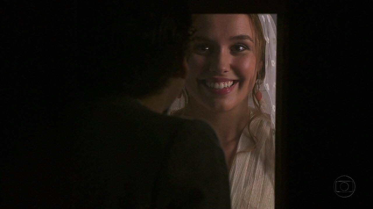 Lado a Lado- capítulo de sexta-feira, dia 04/01/2013, na íntegra - Alice se surpreende ao encontrar Jonas no confessionário
