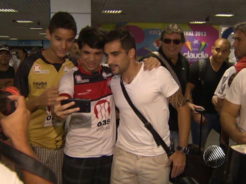 Veja como foi a chegada de Escudero ao Vitória em 2013