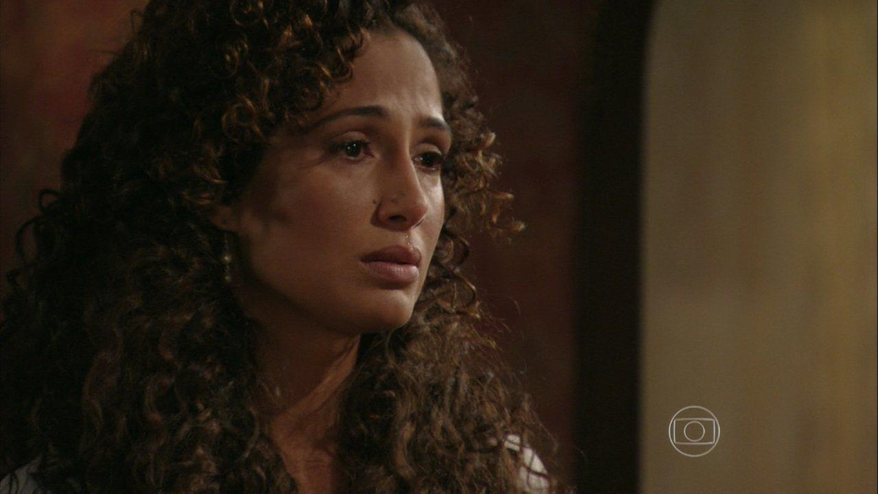 Lado a Lado - capítulo de quarta-feira, dia 20/02/2013, na íntegra - Isabel decide terminar seu noivado com Zé Maria