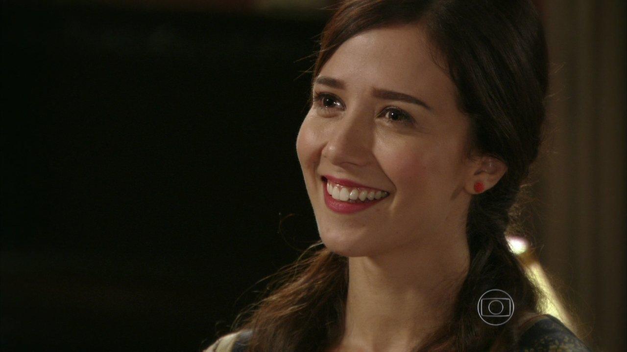 Lado a Lado - capítulo de sexta-feira, dia 22/02/2012, na íntegra - Laura revela a Edgar que Paulo Lima é seu pseudônimo de escritor
