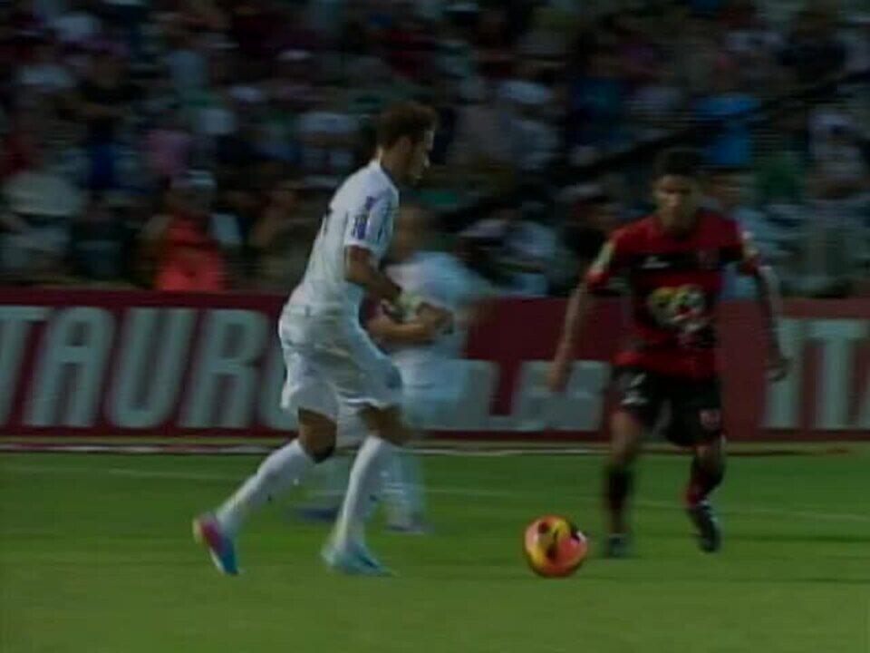 Édson Di rouba a cena, e Flamengo-PI empata com o Santos