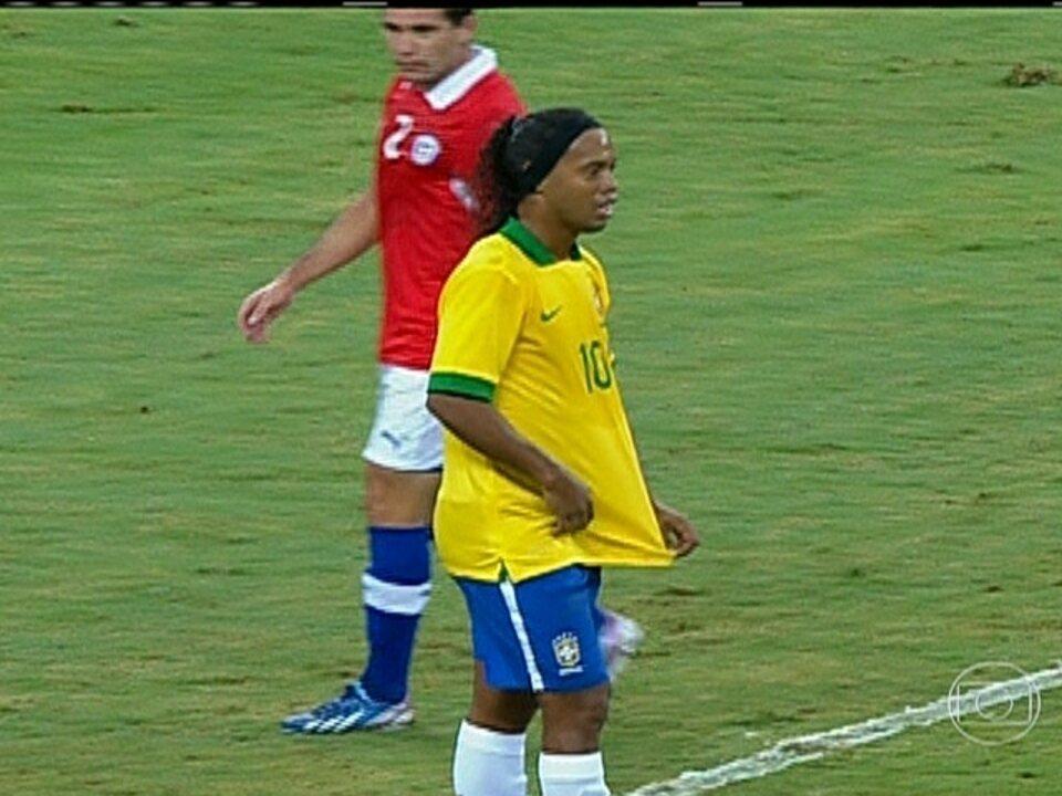 No Mineirão, Brasil fica apenas no empate por 2x2 com a seleção do Chile